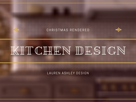 Christmas Rendered | Reveal | Kitchen