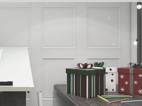 Christmas Rendered | Santas Workshop | Lauren Ashley Design