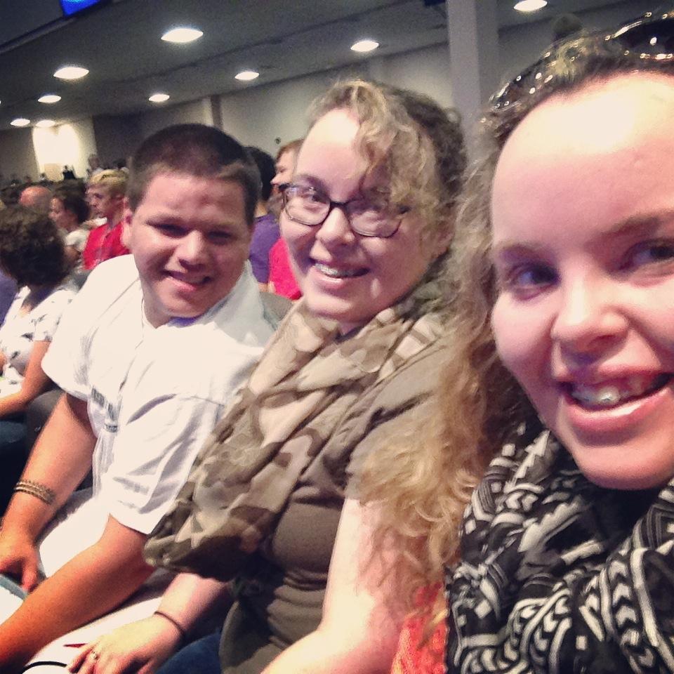 From left to right: Jordan( Sissy's Fiance), Sissy, Me