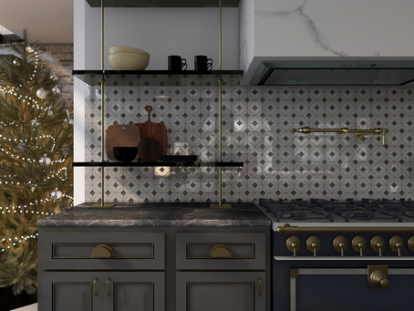 Christmas Rendered | #Shopthelook Kitchen