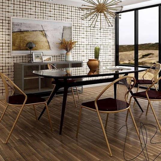 Dining Room 3D Rendering Services | Lauren Ashley Design
