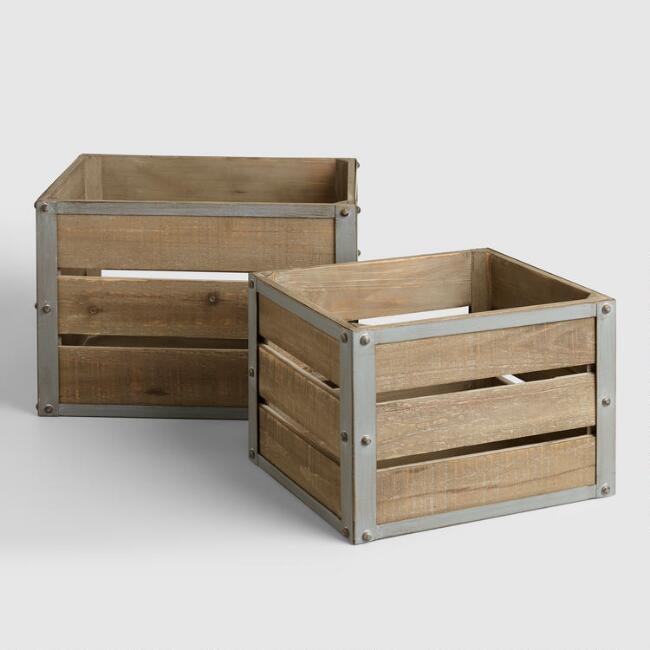 Sebastian Crates   World Market