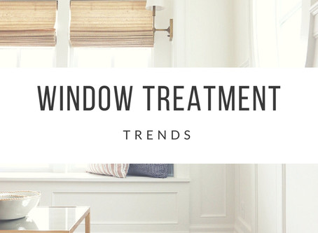 Window Treatments to Finish Your Room