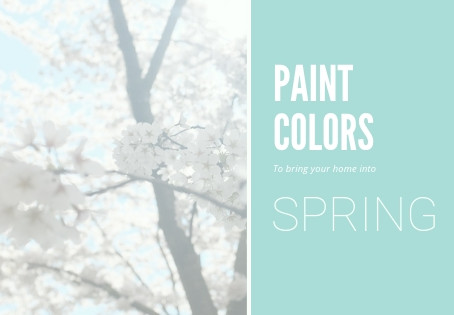 Topic of the Month | April |  Color Palettes | Bedroom Colors