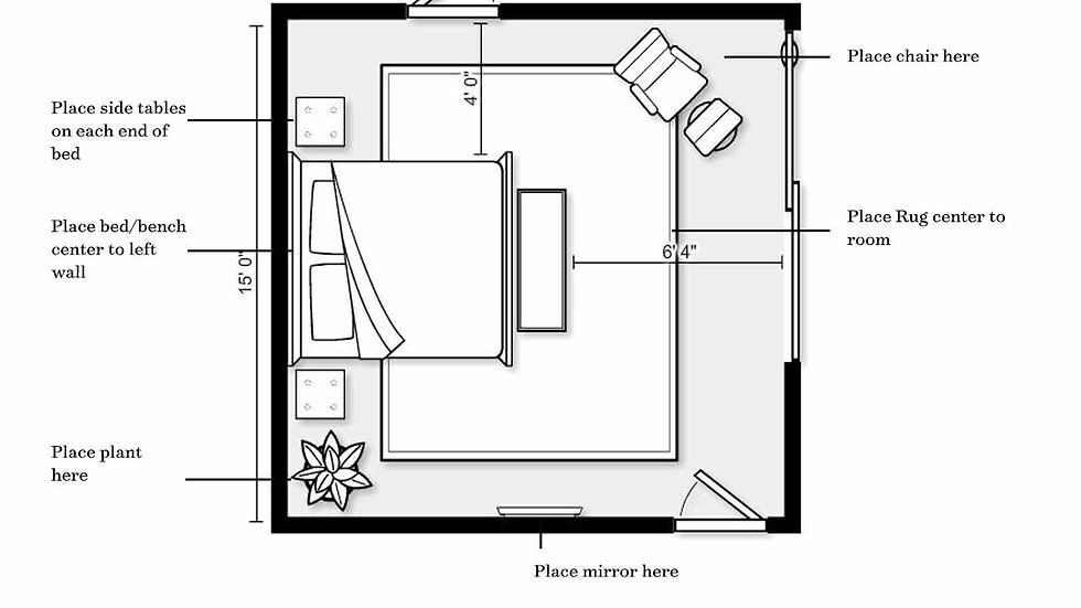 Furniture Layout-Floor Plan