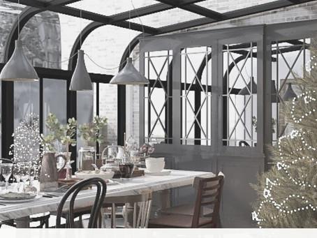 Christmas Rendered | Dining Room Reveal | Lauren Ashley Design