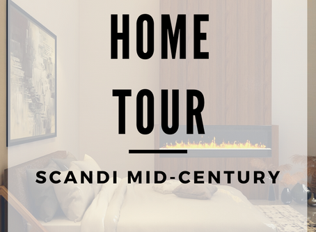2020 Home Tour | Lauren Ashley Design | Mid-Century Scandi Lodge