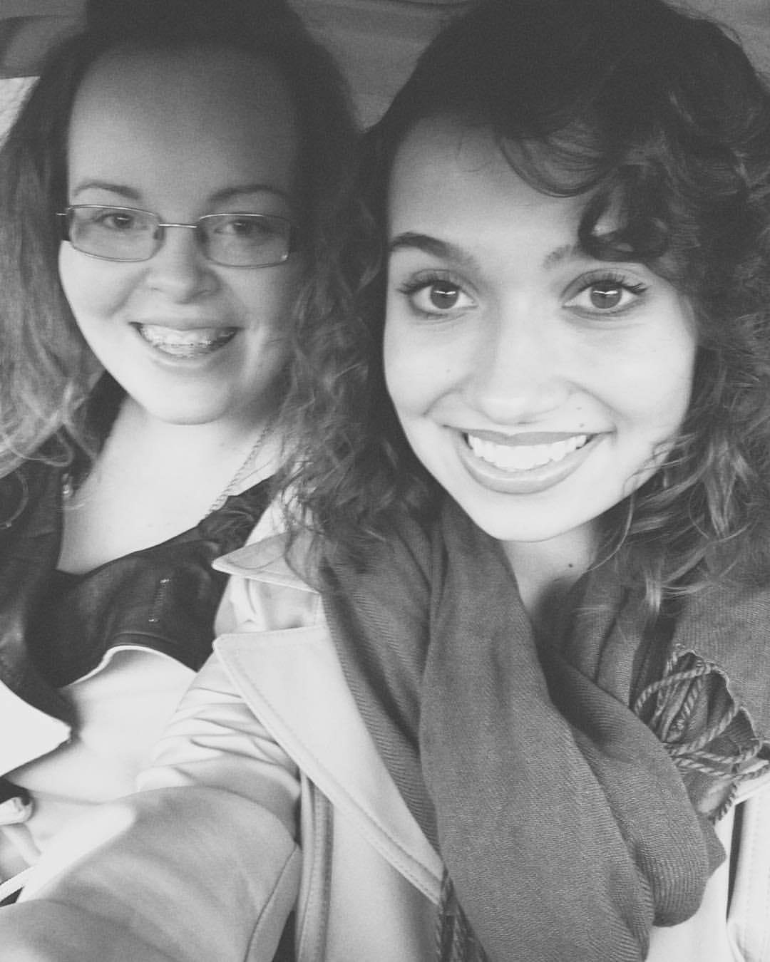 Tabitha and I