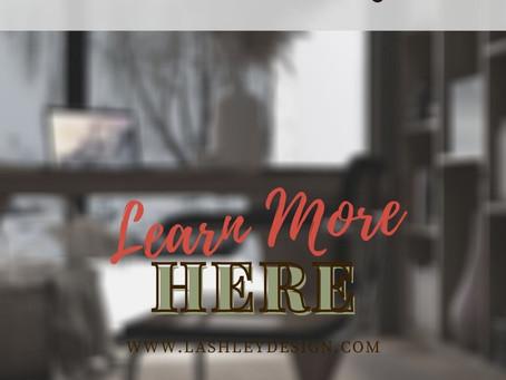 Christmas Rendered | Office Reveal | Lauren Ashley Design