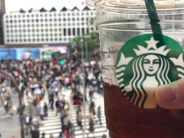 סטארבאקס צומת שיבויה טוקיו