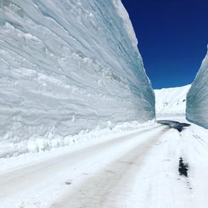 חומת בקרח בדרך האלפינית יפן