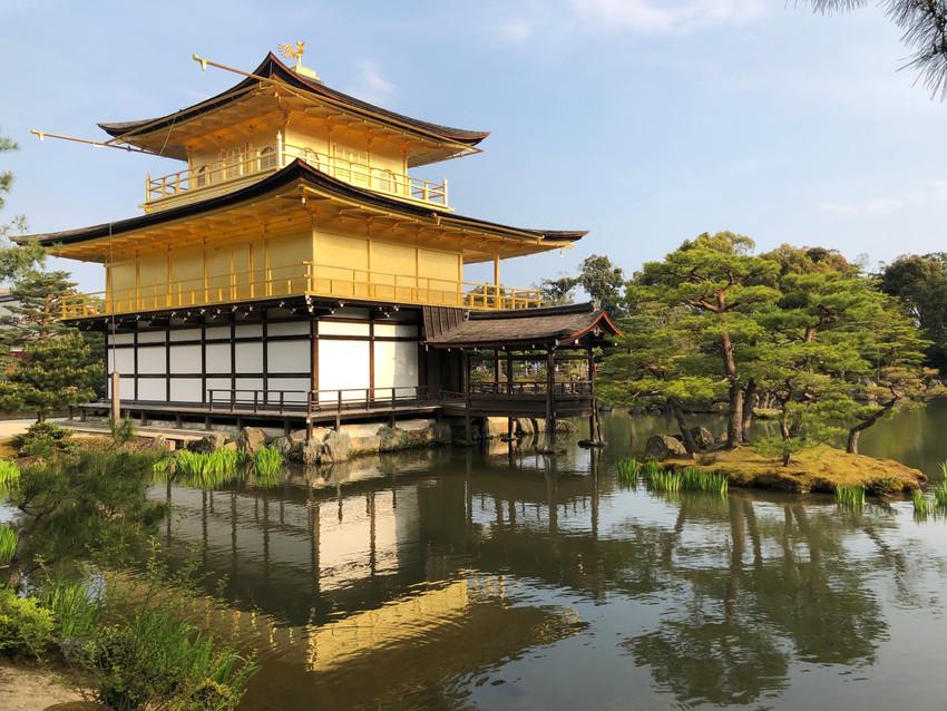 מקדש קינקקוג'י KINKAKUJI המקדש המוזהב