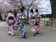 גיישות בטירת קנאזאווה Kanazawa