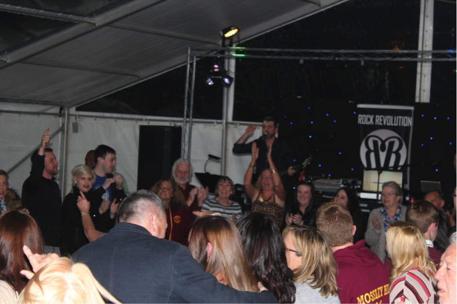 Rock Revolution at Mossley Hill Beer Festival 2