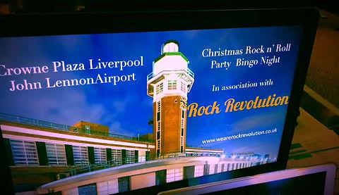 Rock Revolution at the Crowne Plaza - Liverpool John Lennon Airport Christmas 2018