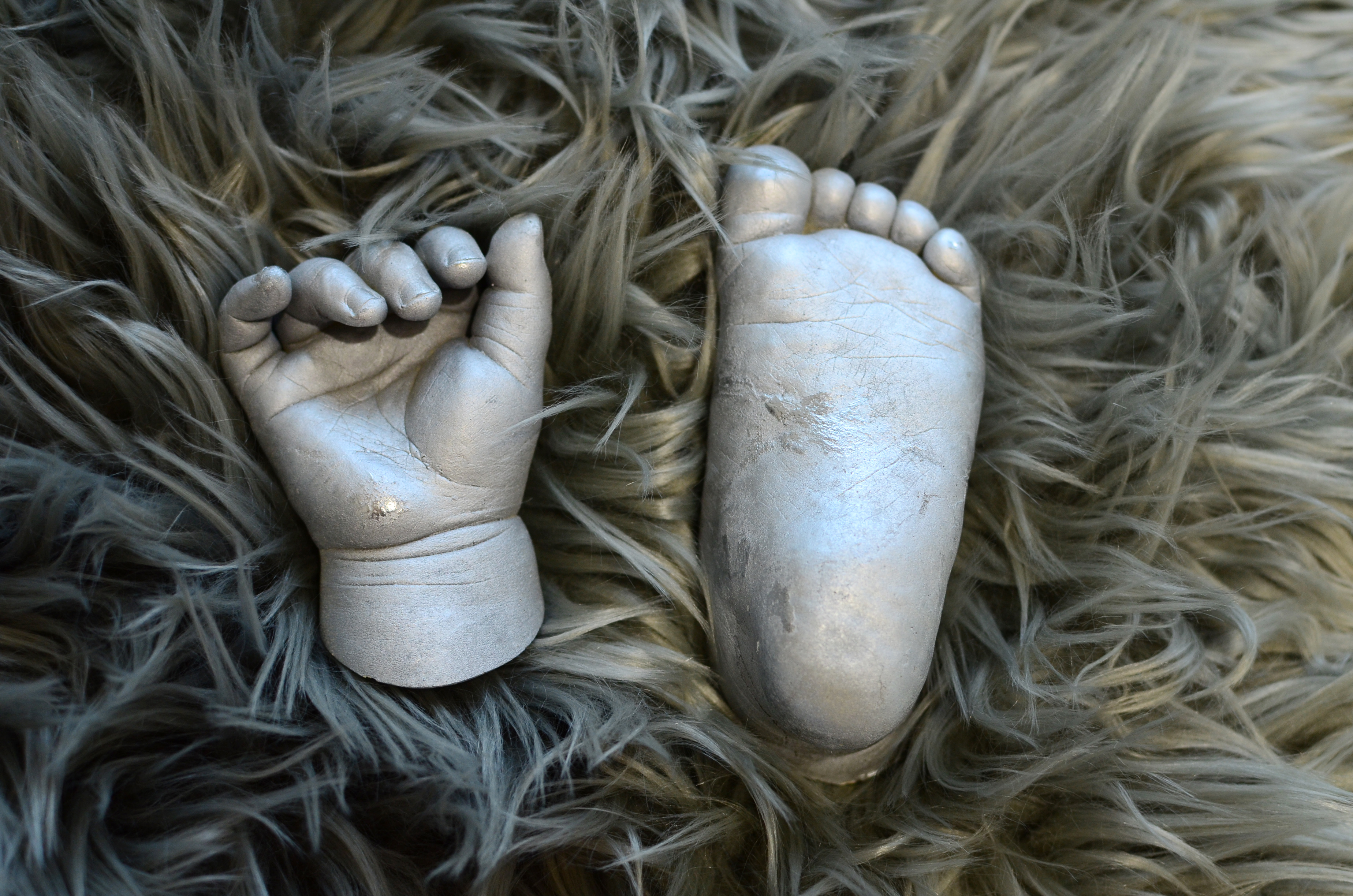 Baby's hand and foot