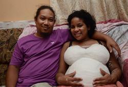 Danielle and her husband.