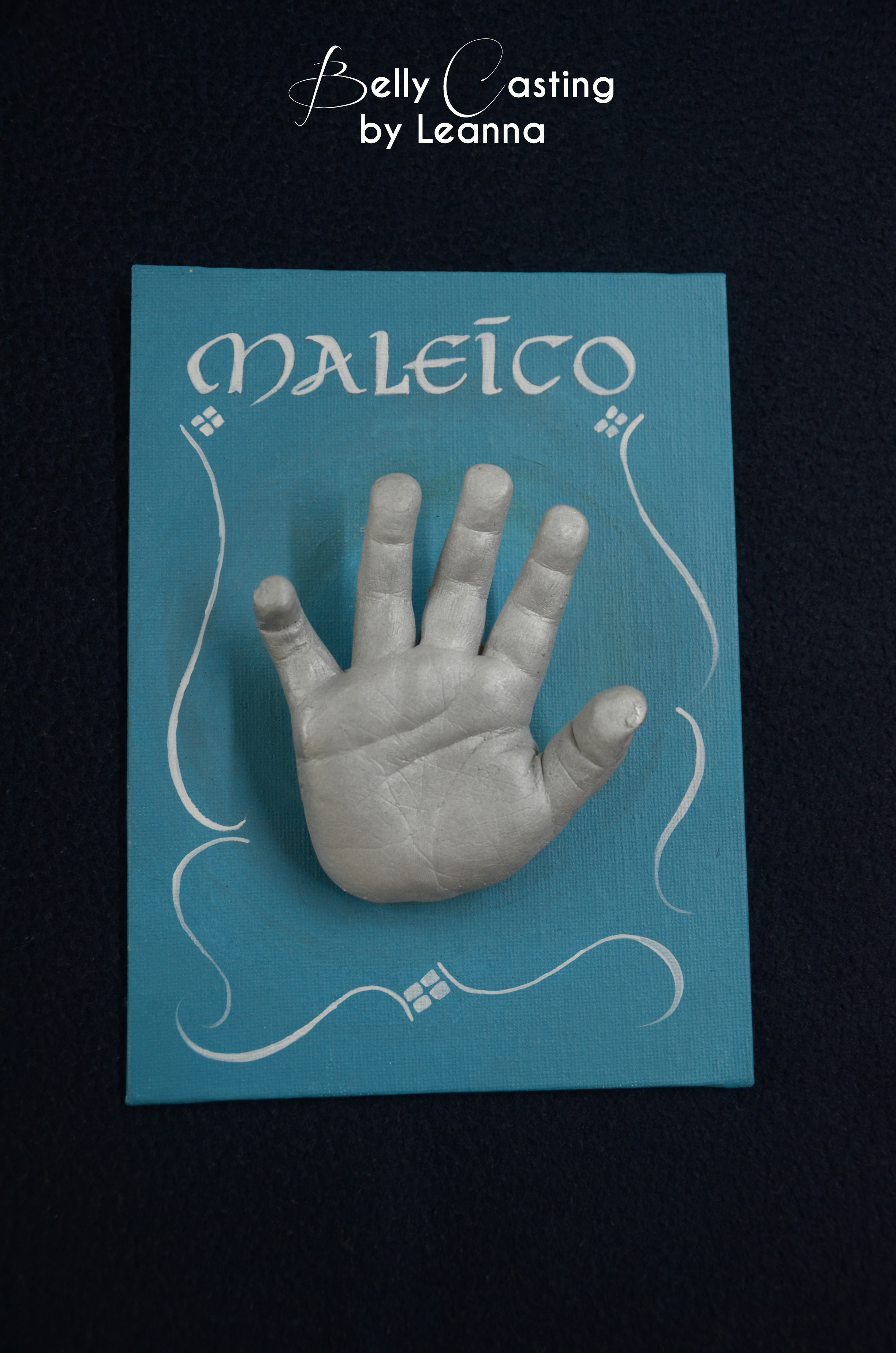 Maleico's hand
