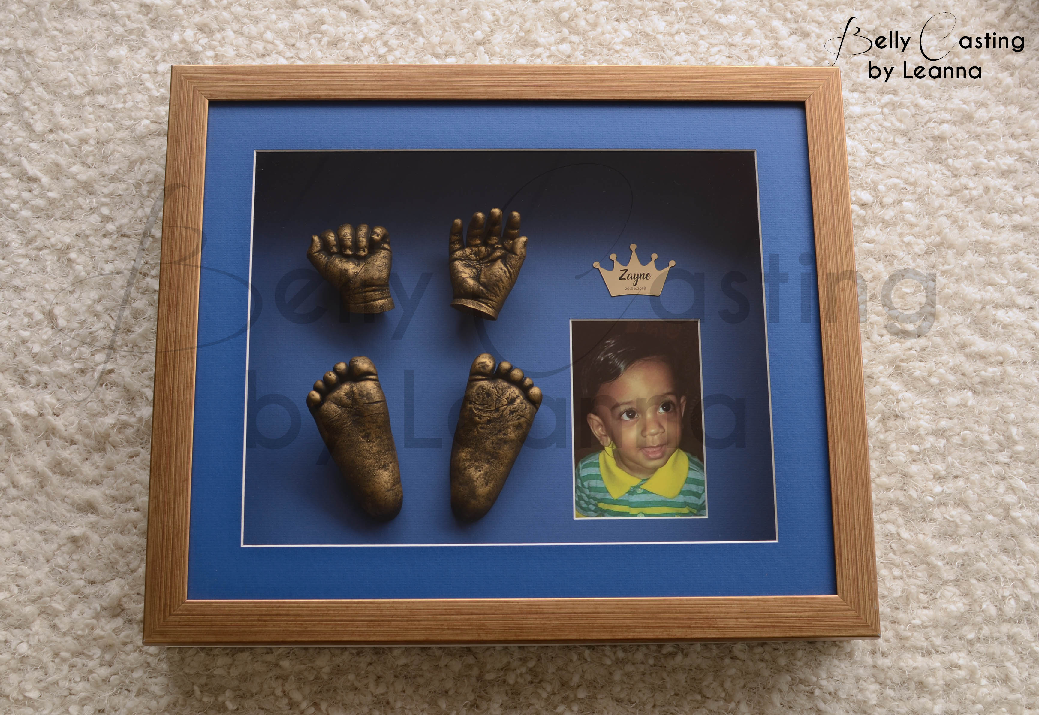 Baby hands and feet casting
