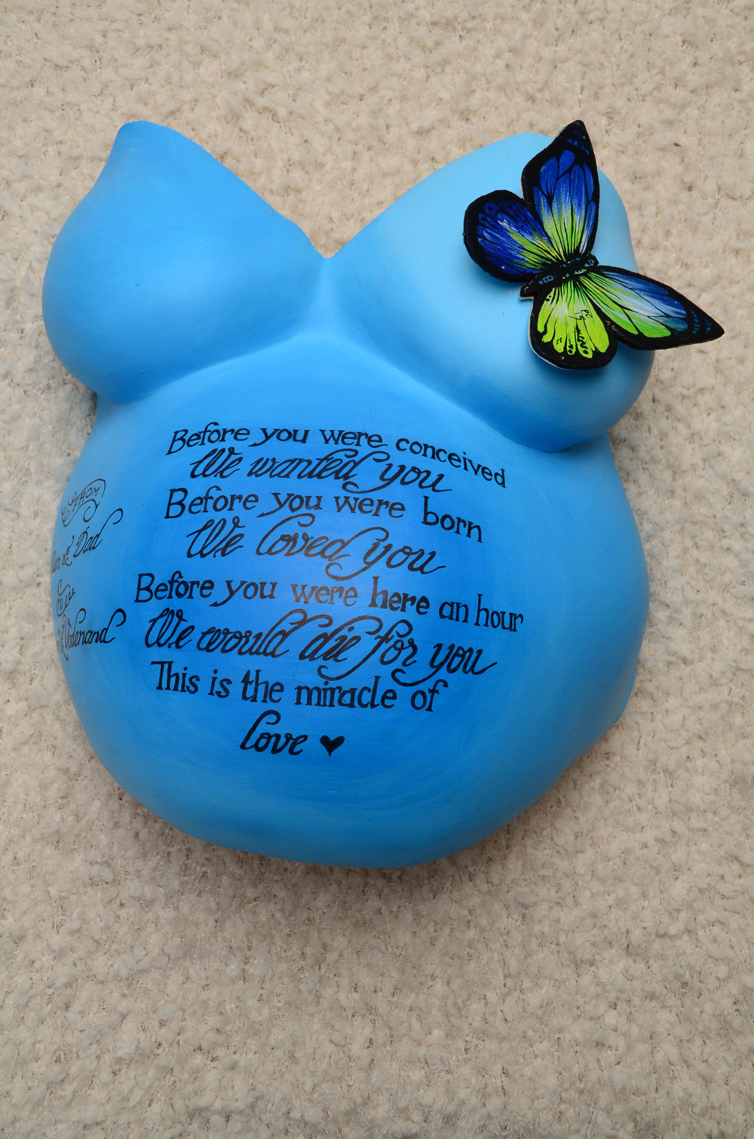 Andre gift to his wife.