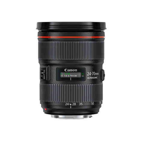 Canon EF 24-70mm f/2.8L II USM 35€