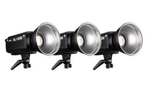 3 led Godox SL-150 W 80€