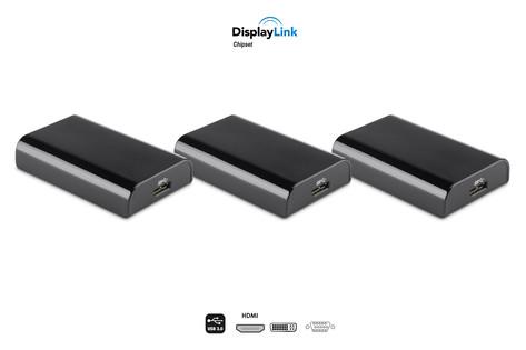 Smartphone display link para sacar el video de un smartphone por hdmi, vga o dvi 20€ las tres unidades