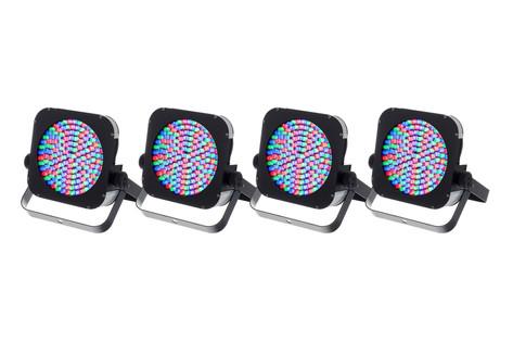 4 Stairville LED Flood Panel 150 40° RGB 40€