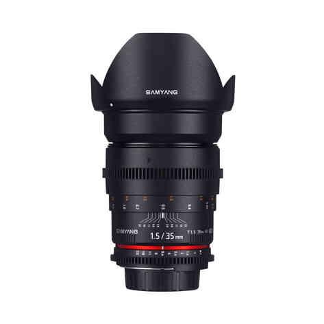 Canon EF Samyang 35mm T1.5 20€