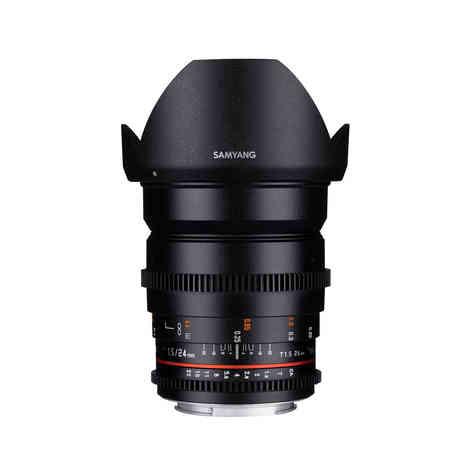 Canon EF Samyang 24mm T1.5 20€