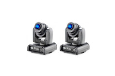 2 Stairville MH-x20 Micro LED Spot Moving 50€