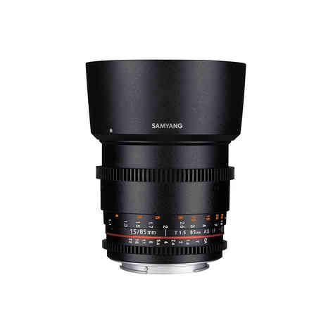 Canon EF Samyang 85mm T1.5 20€