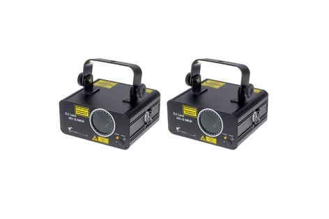 2 Stairville DJ Lase 40-G MK-III DMX IR 40€