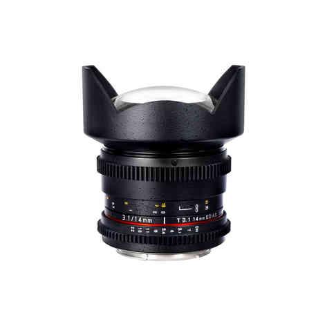 Canon EF Samyang 14mm T3.1 20€
