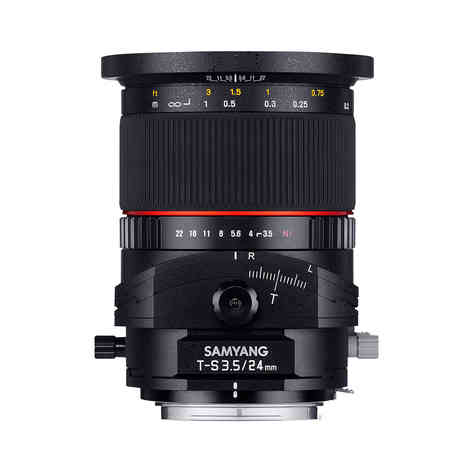 Samyang Canon EF 24mm f/3.5-22 T/S ED AS UMC 25€