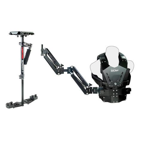 Chaleco, brazo y estabilizador 60€