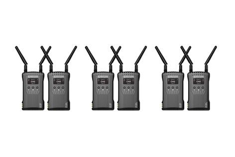 3 Hollyland Mars 400 con 3 transmisores y 3 receptores de video hdmi 130€