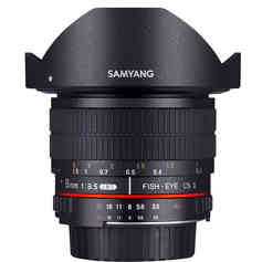Samyang 8MM F3,5 AE CSII NIKON o CANON 20 € al día