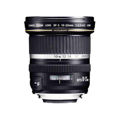 Canon EF-S 10-22 mm USM APS-C 20€