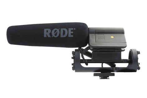 Rode VideoMic micrófono de cañón autoalimentado 15€