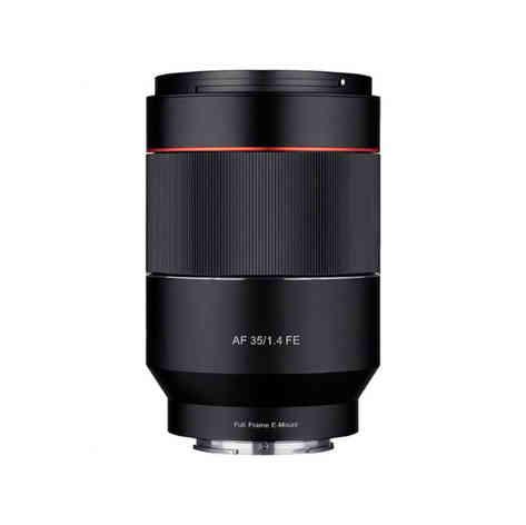 Sony e samyang AF 35mm F1.4 FE 25€