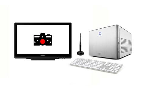 """Ordenador PC Edición a tiempo real + monitor + monitor de 27"""" (si lo deseas) 120€ al día"""