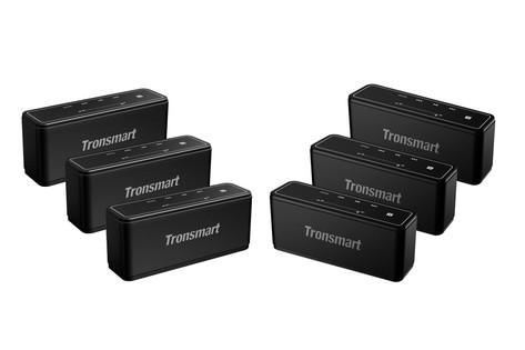 Tronsmart Mega set de 6 altavoces a batería 50€