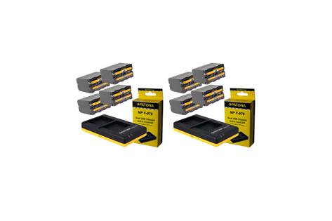 8 baterías Sony NP-F970 30€