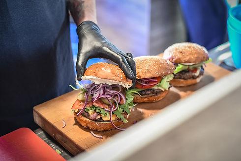 burgery na eventy