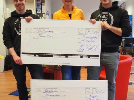 500 Euro für unseren Verein