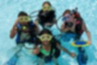 Kids in SCUBA