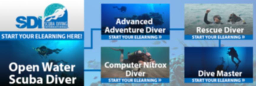 SDI Open Water Scuba Diver Training
