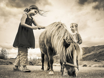 Horsing around in childhood really can change your life
