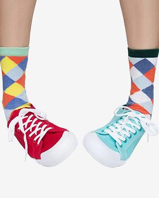 Fun Gemusterte Socken